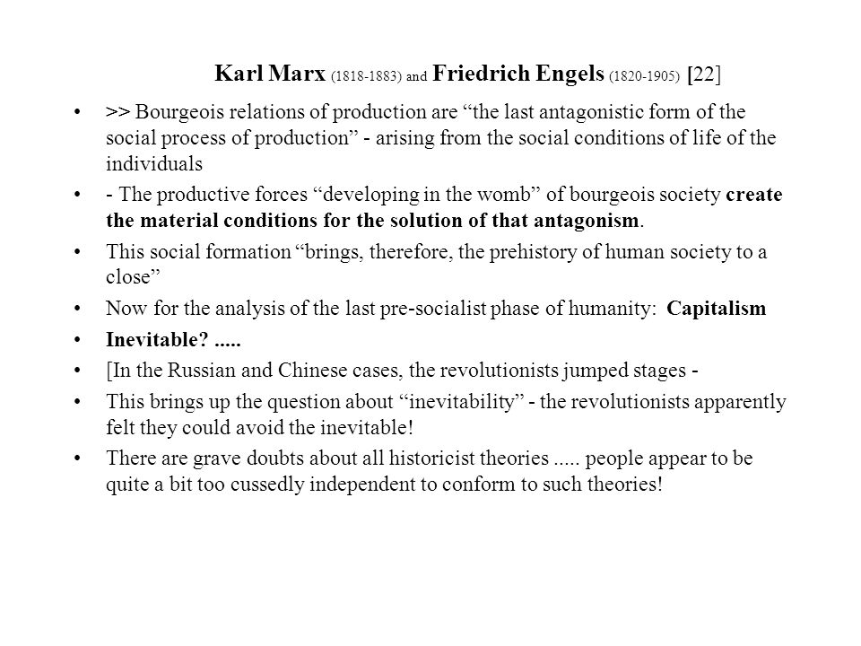 an analysis of karl marxs theory of capitalism and independence Changing the world is what marxism is all about, and yet neither karl marx nor his life-long colleague and executor friedrich engels (1820-1895) ever developed a theory of imperialism.